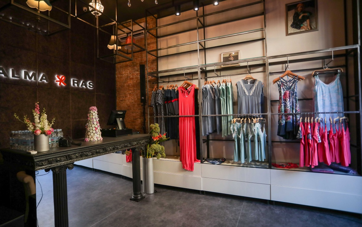 First Boutique of Exclusive Underwear Alma Ras Opens in Center of Zagreb